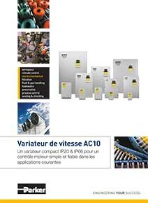 Catalogue variateur de vitesse AC10