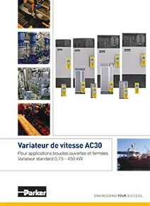 Catalogue variateur de vitesse AC30